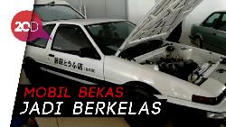 Keren! Toyota AE86 Trueno Ini Dimodif Bak Film Anime