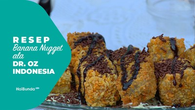 Resep Banana Nuget Ala Dr.Oz Indonesia