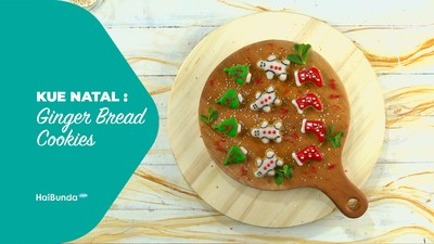 Kue Natal: Ginger Bread Cookies