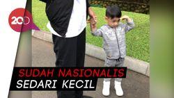 Gaya Hormat Jan Ethes Saat Jokowi Nyanyi Indonesia Raya