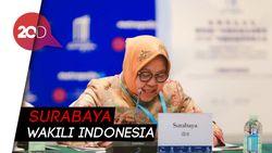 Top! Surabaya Raih Penghargaan Kota Terpopuler di Guangzhou Award