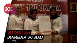 MPR Gandeng Netizen Deklarasi Cegah Konten Hoax dan SARA