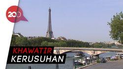 Menara Eiffel Ditutup karena Ada Demo di Paris