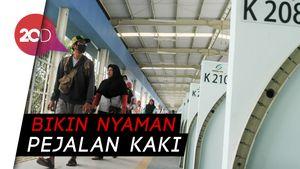 Resmi Diuji Coba, Yuk Kita Telusuri Skybridge Tanah Abang!