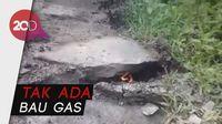 Heboh Api Muncul dari Retakan Tanah di Banjarnegara