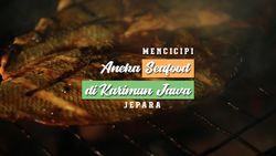Mencicipi Aneka Seafood di Alun Alun Karimunjawa