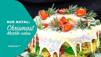 Kue Natal: Chrismast Marble Cakes