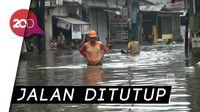 Banjir Setinggi 1 Meter, Kemang Utara Terendam