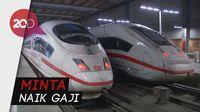 Pegawai Mogok Kerja, Perjalanan Kereta Jerman Lumpuh