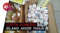 Polisi Sita 4 Dus Kosmetik Ilegal Bermerkuri di Blitar!
