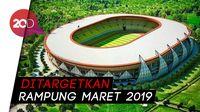 Sudah 91 Persen, Yuk Intip Pembangunan Stadion Papua Bangkit!