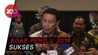 Wiranto Minta Bawaslu Survei Tingkat Kerawanan Pemilu