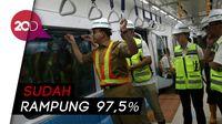 Tinjau Kesiapan MRT Rute Bundaran HI - Lebak Bulus, Anies: Nyaman