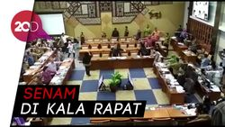 Lagi Fokus Bahas Defisit BPJS, Eh Menkes Ajak Senam Anggota DPR