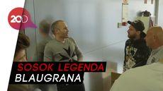 Hangatnya Barcelona Menyambut Iniesta