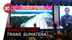 Jokowi Minta Tol Lampung-Palembang Diresmikan April 2019