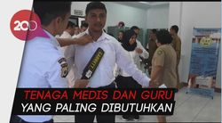 Peserta CPNS di Bandung Ngaku Kesulitan Ikuti Tes SKB
