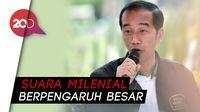 Survei RDADI Sebut 70% Lebih Milenial Puas dengan Jokowi