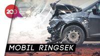Terobos Lampu Merah, Transjakarta Tabrak Mobil di Menteng