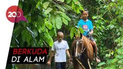 Asyiknya Berkuda Menelusuri Desa di Yogyakarta