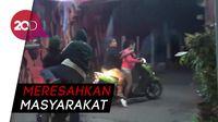 Asyik Mangkal, PSK di Makasar Lari Terbirit-birit Kena Razia