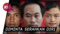 Wajah 3 DPO Pengeroyok TNI di Cibubur