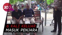 Polres Trenggalek Tangkap Dua Residivis Pembobol Rumah