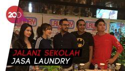Demi Film Baru, Boy William Belajar Nge-laundry