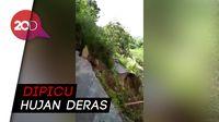 Jalan di Aceh Amblas, Detik-detik Kejadiannya Terekam Kamera
