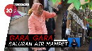 Pakai Kebaya dan Bot Pink, Risma Bersihkan Gorong-gorong