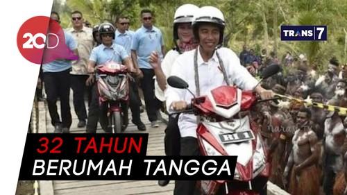 Apa Sih Momen Paling Romantis antara Jokowi dan Iriana?