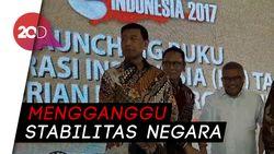 Soal KKB Papua, Wiranto: Kita Habisi Mereka!