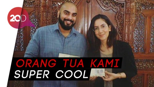 Vlogger Suhay Salim Buka Suara soal Nikah Pakai Celana Jeans