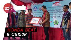 Honda Sumbang 2 Motor ke SMK Tanjung Selor untuk Dioprek