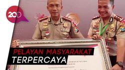 Polrestabes Surabaya Raih Predikat Birokrasi Bersih