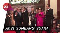 Menteri Jokowi Konser di Resepsi Nikahan Putra Menlu Retno