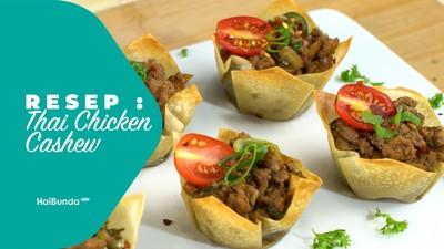 Resep Thai Chicken Cashew