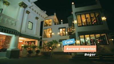 Cafe Megah Bagaikan di Istana Negeri Dongeng