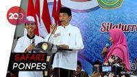 Awali Kunker di Jatim, Jokowi ke Ponpes Darul Ulum