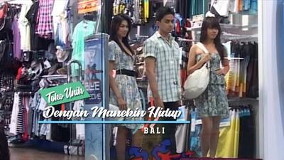 Toko Unik dengan Manekin yang Hidup, Bali