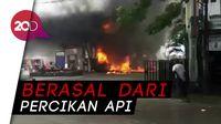 SPBU di Makassar Terbakar, Seorang Warga Terluka