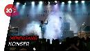 Detik-detik Tsunami Sapu Panggung Band Seventeen