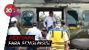 Presiden Jokowi Tinjau Korban Tsunami Banten