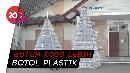 Pohon Natal Unik dari Botol Plastik