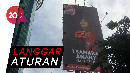 Reklame Ketua DPP PSI Tsamara Amany Disegel Pemprov DKI