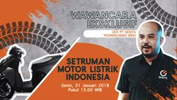 Saksikan Buka-bukaan Bos Motor Listrik Indonesia