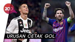 Messi Lebih Jago dari Ronaldo di 2018