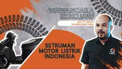 Wawancara Eksklusif CEO Gesits, Setruman Motor Listrik Indonesia