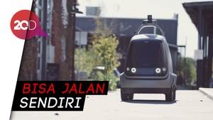 Buat Emak-emak Mager, Ada Mobil Robot Pengantar Belanjaan