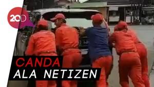 Saat Mobil Menag Mogok Jadi Bahan Candaan Netizen